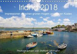 Irland 2018. Impressionen zwischen grünen Hügeln und blauen Küsten (Wandkalender 2018 DIN A4 quer) von Lehmann,  Steffani