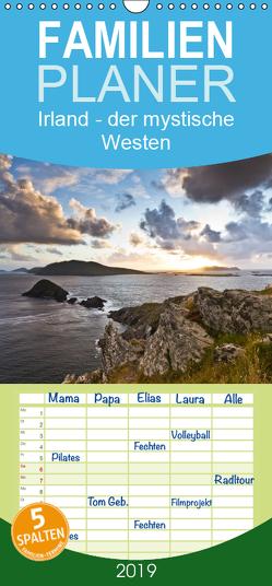 Irland – der mystische Westen – Familienplaner hoch (Wandkalender 2019 , 21 cm x 45 cm, hoch) von Hess - www.holgerhess.com,  Holger