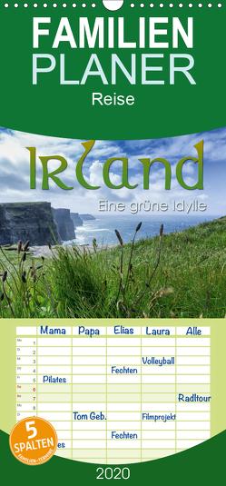 Irland – eine grüne Idylle – Familienplaner hoch (Wandkalender 2020 , 21 cm x 45 cm, hoch) von Lichtenberger,  Manuel