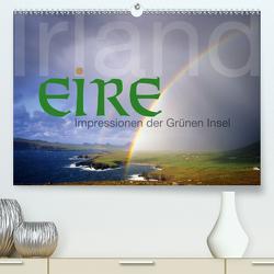 Irland/Eire – Impressionen der Grünen Insel (Premium, hochwertiger DIN A2 Wandkalender 2021, Kunstdruck in Hochglanz) von Nägele F.R.P.S.,  Edmund