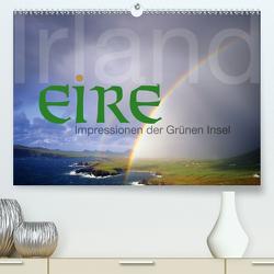 Irland Eire – Impressionen der Grünen InselCH-Version (Premium, hochwertiger DIN A2 Wandkalender 2021, Kunstdruck in Hochglanz) von Nägele F.R.P.S.,  Edmund