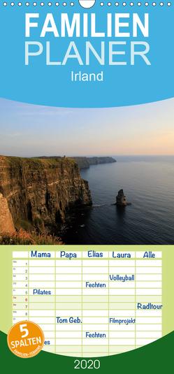Irland – Familienplaner hoch (Wandkalender 2020 , 21 cm x 45 cm, hoch) von Knof,  Claudia, www.cknof.de