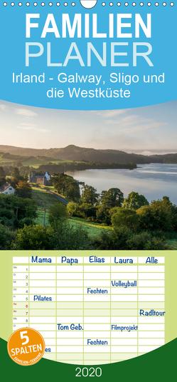 Irland – Galway, Sligo und die Westküste – Familienplaner hoch (Wandkalender 2020 , 21 cm x 45 cm, hoch) von Bangert,  Mark