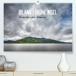 Irland-grüne Insel, Mukkross Lake, Killarney (Premium, hochwertiger DIN A2 Wandkalender 2021, Kunstdruck in Hochglanz) von Hellmeier,  Rolf