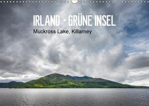 Irland-grüne Insel, Mukkross Lake, Killarney (Wandkalender 2018 DIN A3 quer) von Hellmeier,  Rolf