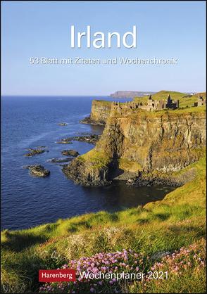 Irland Kalender 2021 von Harenberg, Raach,  Karl-Heinz