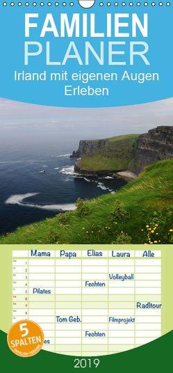 Irland mit eigenen Augen Erleben – Familienplaner hoch (Wandkalender 2019 , 21 cm x 45 cm, hoch) von Nordstern