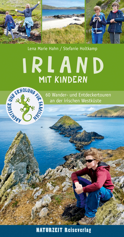 Irland mit Kindern von Hahn,  Lena Marie, Holtkamp,  Stefanie