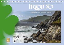 Irland – Rauhe Küste und Wilde Natur (Tischkalender 2019 DIN A5 quer) von Stamm,  Dirk