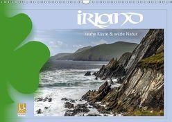 Irland – Rauhe Küste und Wilde Natur (Wandkalender 2019 DIN A3 quer) von Stamm,  Dirk
