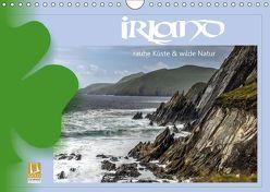 Irland – Rauhe Küste und Wilde Natur (Wandkalender 2019 DIN A4 quer) von Stamm,  Dirk