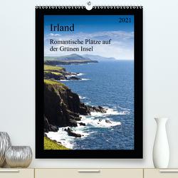 Irland – Romantische Plätze auf der Grünen Insel (Premium, hochwertiger DIN A2 Wandkalender 2021, Kunstdruck in Hochglanz) von Hess,  Holger