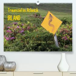 IRLAND Traumziel im Atlantik (Premium, hochwertiger DIN A2 Wandkalender 2021, Kunstdruck in Hochglanz) von Weber,  Frank