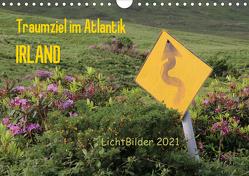 IRLAND Traumziel im Atlantik (Wandkalender 2021 DIN A4 quer) von Weber,  Frank