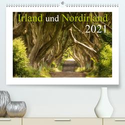 Irland und Nordirland 2021 (Premium, hochwertiger DIN A2 Wandkalender 2021, Kunstdruck in Hochglanz) von Jentschura,  Katja