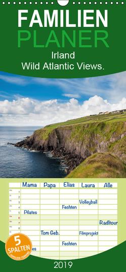 Irland. Wild Atlantic Views. – Familienplaner hoch (Wandkalender 2019 , 21 cm x 45 cm, hoch) von Wagner,  Markus