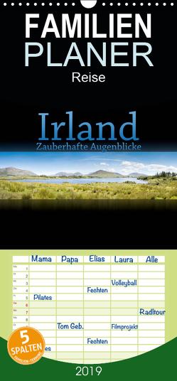 Irland – Zauberhafte Augenblicke – Familienplaner hoch (Wandkalender 2019 , 21 cm x 45 cm, hoch) von Gann (magann),  Markus