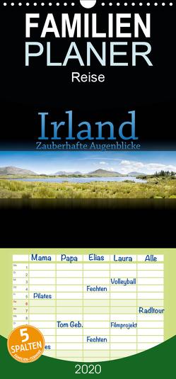 Irland – Zauberhafte Augenblicke – Familienplaner hoch (Wandkalender 2020 , 21 cm x 45 cm, hoch) von Gann (magann),  Markus
