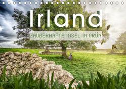 Irland – Zauberhafte Insel in grün (Tischkalender 2019 DIN A5 quer) von Schöb,  Monika