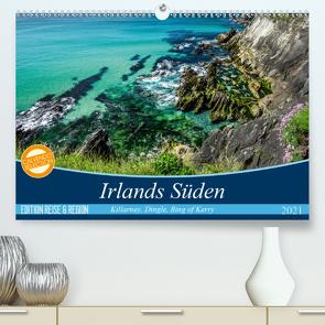 Irlands fanzinierender Süden (Premium, hochwertiger DIN A2 Wandkalender 2021, Kunstdruck in Hochglanz) von Klenke,  Matthias