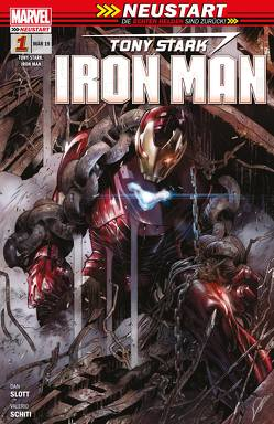 Tony Stark: Iron Man – Neustart von Dunbar,  Max, Rösch,  Alexander, Schiti,  Valerio, Slott,  Dan