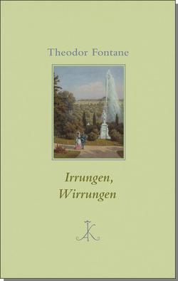 Irrungen, Wirrungen von Bark,  Joachim, Fontane,  Theodor