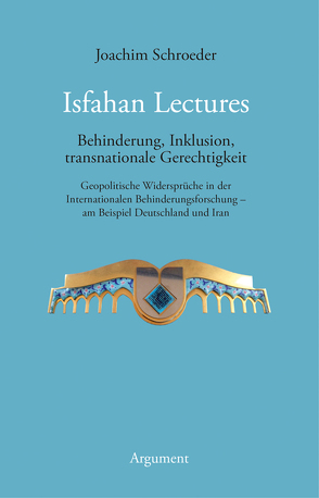 Isfahan Lectures von Schroeder,  Joachim