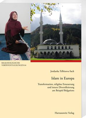 Islam in Europa von Telbizova-Sack,  Jordanka