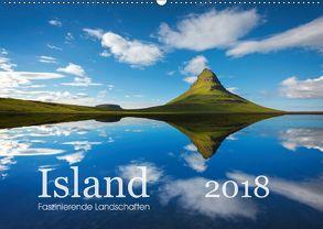 ISLAND 2018 – Faszinierende Landschaften (Wandkalender 2018 DIN A2 quer) von Koch,  Lucyna