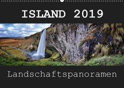 Island 2019 Landschaftspanoramen (Wandkalender 2019 DIN A2 quer) von Vonten,  Dirk