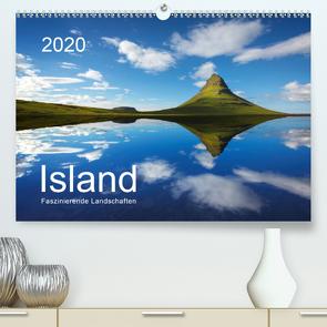 ISLAND 2020 – Faszinierende Landschaften (Premium, hochwertiger DIN A2 Wandkalender 2020, Kunstdruck in Hochglanz) von Koch,  Lucyna