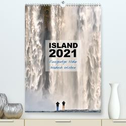 Island 2021 – Einzigartige Natur hautnah erleben (Premium, hochwertiger DIN A2 Wandkalender 2021, Kunstdruck in Hochglanz) von Vonten,  Dirk