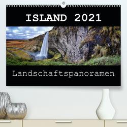 Island 2021 Landschaftspanoramen (Premium, hochwertiger DIN A2 Wandkalender 2021, Kunstdruck in Hochglanz) von Vonten,  Dirk