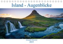 Island – Augenblicke 2019 (Tischkalender 2019 DIN A5 quer) von Höntschel,  Alexander