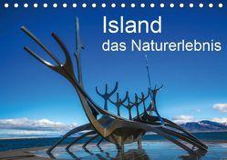 Island, das Naturerlebnis (Tischkalender 2019 DIN A5 quer) von Gundlach,  Joerg