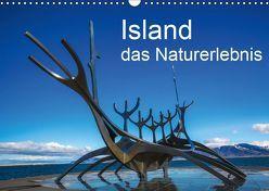 Island, das Naturerlebnis (Wandkalender 2019 DIN A3 quer) von Gundlach,  Joerg