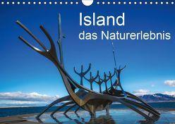 Island, das Naturerlebnis (Wandkalender 2019 DIN A4 quer) von Gundlach,  Joerg