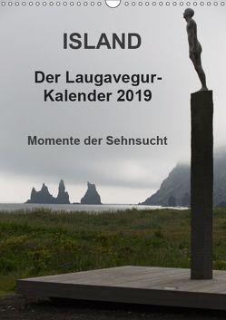 Island – Der Laugavegur-Kalender 2019 (Wandkalender 2019 DIN A3 hoch) von Tschöpe,  Frank