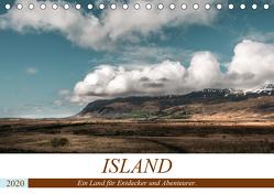 Island. Ein Land für Entdecker und Abenteurer. (Tischkalender 2020 DIN A5 quer) von Hennen,  Marcus