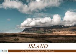 Island. Ein Land für Entdecker und Abenteurer. (Wandkalender 2020 DIN A3 quer) von Hennen,  Marcus