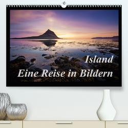 Island – Eine Reise in BildernCH-Version (Premium, hochwertiger DIN A2 Wandkalender 2021, Kunstdruck in Hochglanz) von Kägi,  Manuela