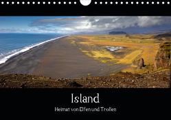 Island – Heimat von Elfen und Trollen (Wandkalender 2021 DIN A4 quer) von Plettscher,  Wolfram