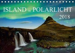 Island im Polarlicht (Tischkalender 2018 DIN A5 quer) von Raker Edition Arctic,  Katarina