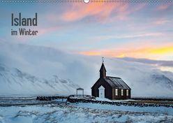 Island im Winter (Wandkalender 2019 DIN A2 quer)