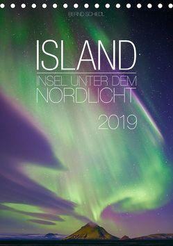 Island – Insel unter dem Nordlicht (Tischkalender 2019 DIN A5 hoch) von Schiedl,  Bernd