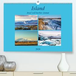 Island – Insel voll herber Anmut (Premium, hochwertiger DIN A2 Wandkalender 2020, Kunstdruck in Hochglanz) von Dürr,  Brigitte