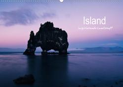 Island – inspirierende Landschaft (Wandkalender 2021 DIN A2 quer) von Gimpel,  Frauke