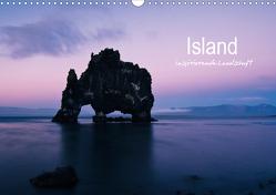 Island – inspirierende Landschaft (Wandkalender 2021 DIN A3 quer) von Gimpel,  Frauke