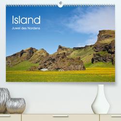 Island Juwel des Nordens (Premium, hochwertiger DIN A2 Wandkalender 2021, Kunstdruck in Hochglanz) von Roessler,  Fabian