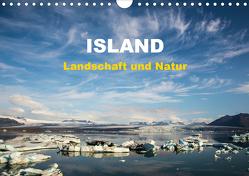 Island – Landschaft und Natur (Wandkalender 2020 DIN A4 quer) von Rusch - www.w-rusch.de,  Winfried